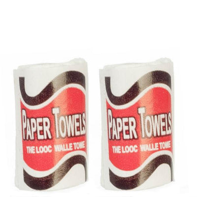 dollhouse miniature paper towels