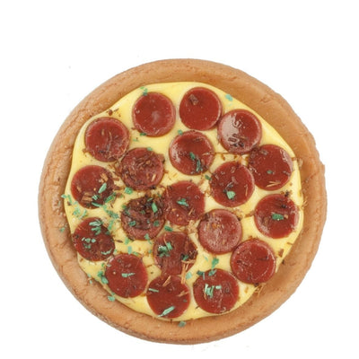 dollhouse miniature pepperoni pizza