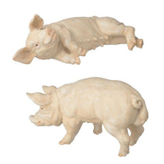 dollhouse miniature pigs