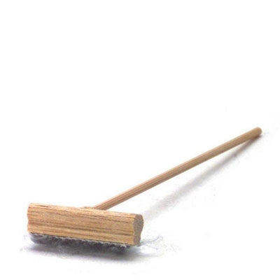 Dollhouse Miniature Push Broom - Little Shop of Miniatures