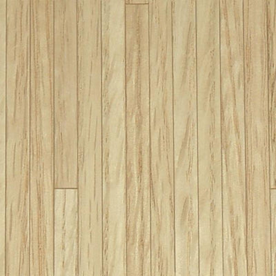 Dollhouse miniature red oak flooring.
