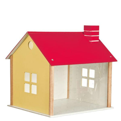 Red Roof Dollhouse Room Box - Little Shop of Miniatures