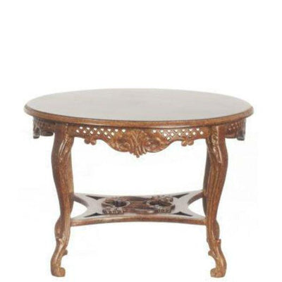 dollhouse miniature round table