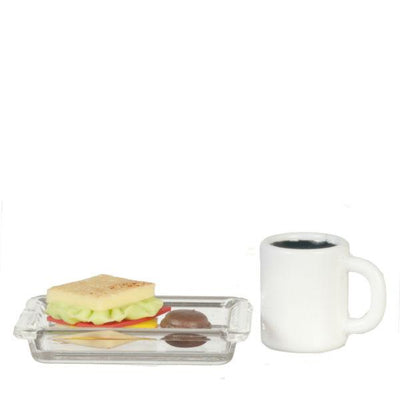 dollhouse miniature sandwich