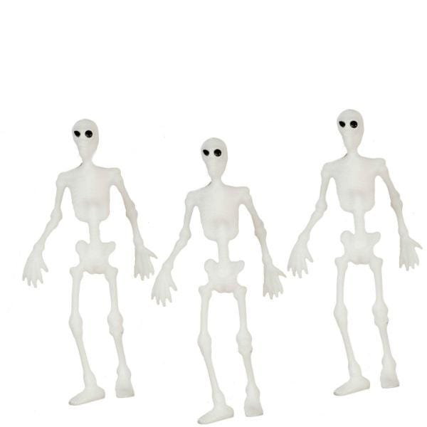 dollhouse miniature skeletons