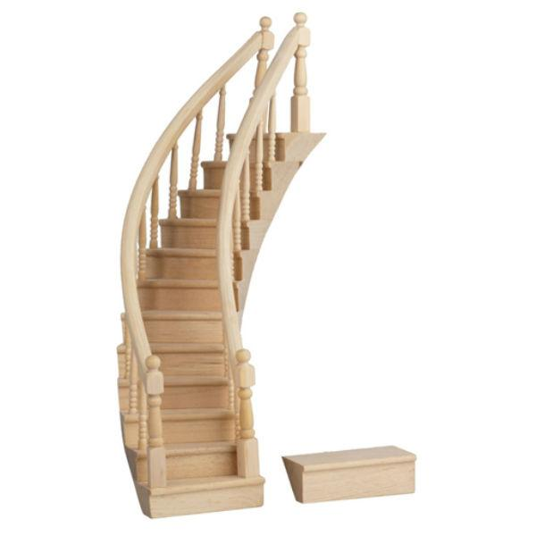 dollhouse miniature staircase