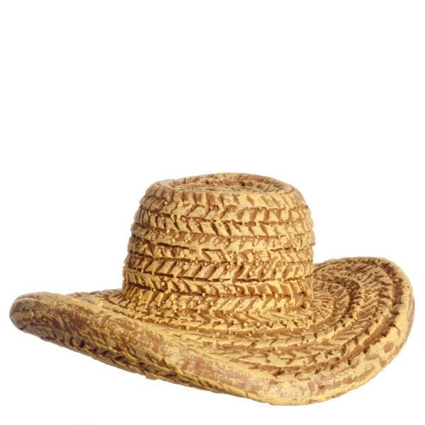 dollhouse miniature straw hat
