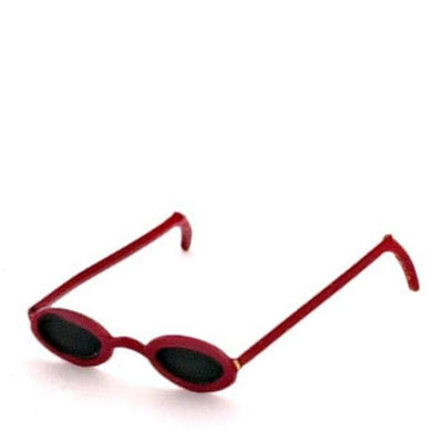 Red Dollhouse Miniature Sunglasses - Little Shop of Miniatures