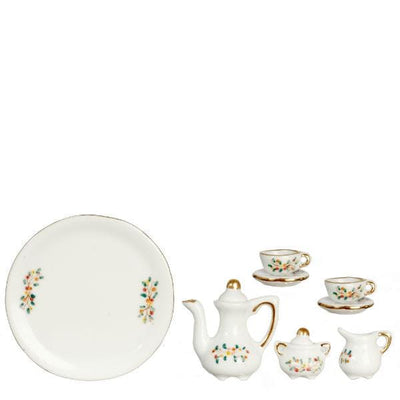 6-Piece Dollhouse Miniature Tea Set - Little Shop of Miniatures