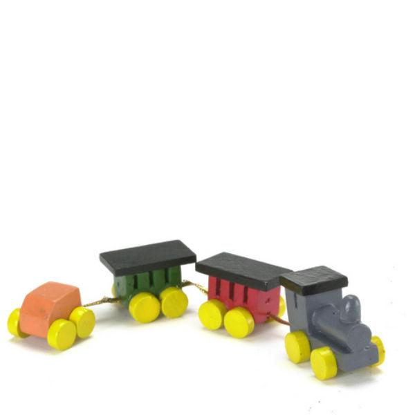 dollhouse miniature toy train