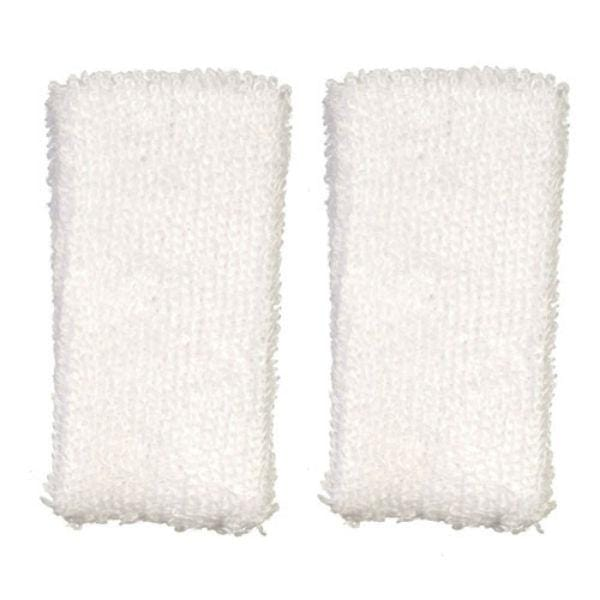 dollhouse miniature white towels