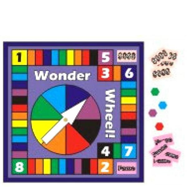 dollhouse miniature wonder wheel game