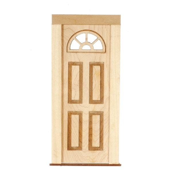 dollhouse miniature wood door