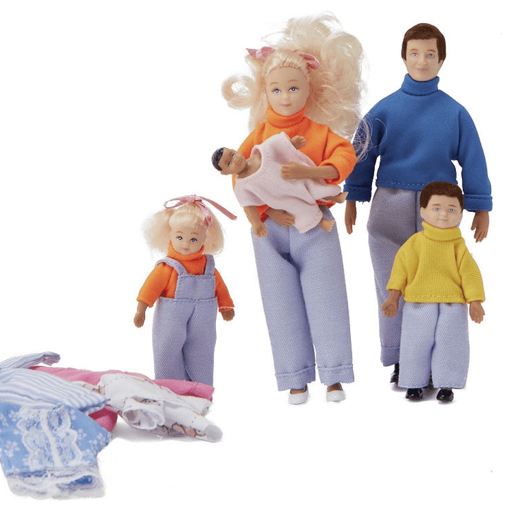 dollhouse doll family
