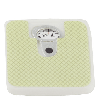 Dollhouse Miniature Bathroom Scale - Little Shop of Miniatures