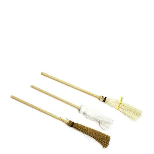 dollhouse miniature broom and mop set
