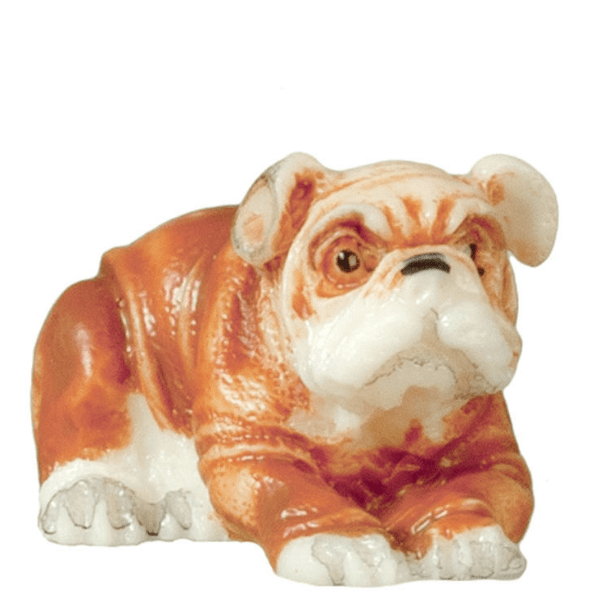 dollhouse miniature bulldog