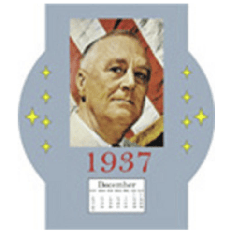 FDR Dollhouse Miniature Calendar - Little Shop of Miniatures