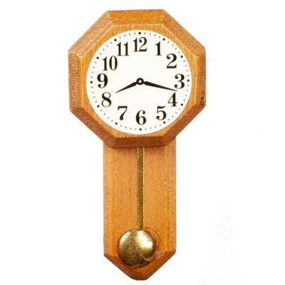 Dollhouse Miniature Wall Clock - Little Shop of Miniatures