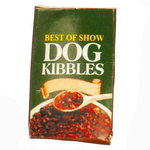 dollhouse miniature dog food