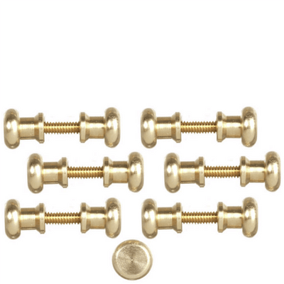 Dollhouse Miniature Threaded Door Knobs - Little Shop of Miniatures