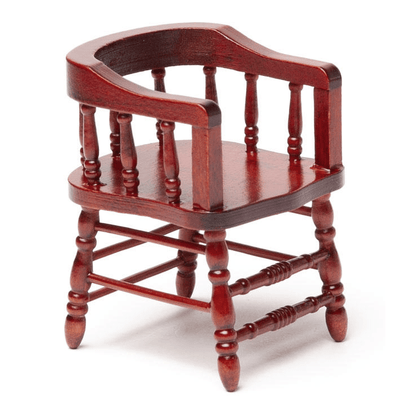 dollhouse miniature firehouse chair