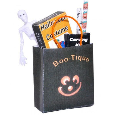 dollhouse miniature halloween bag