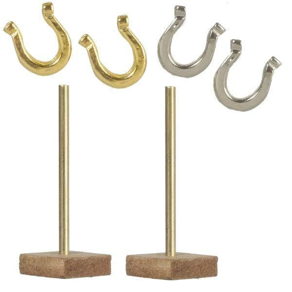 dollhouse miniature horseshoes