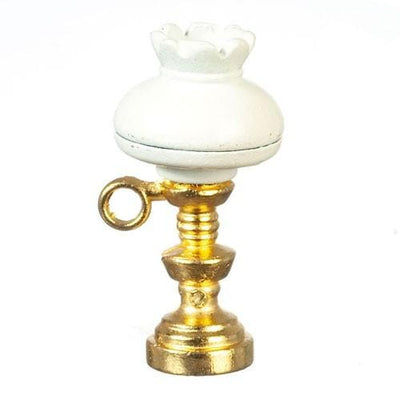 Nonworking Dollhouse Miniature Kerosene Lamp