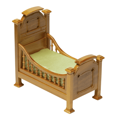 dollhouse miniature kids bed