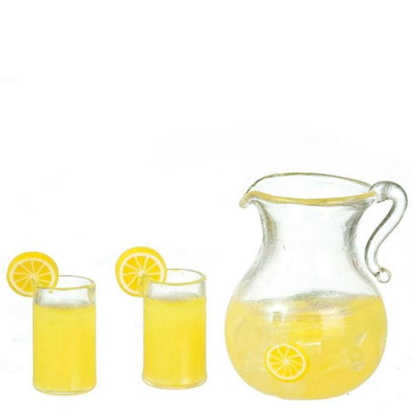 dollhouse miniature lemonade set