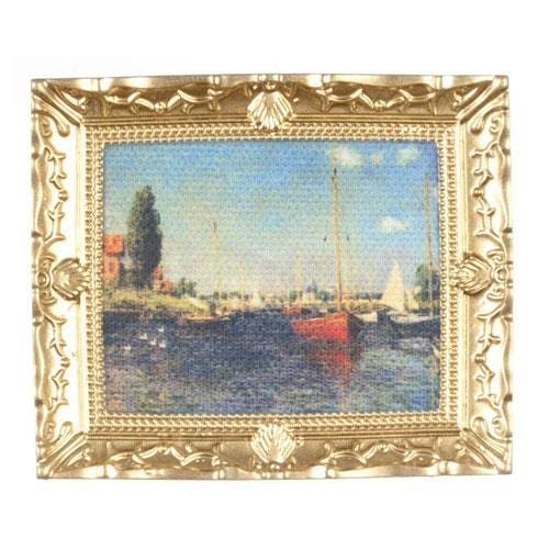 dollhouse miniature monet painting