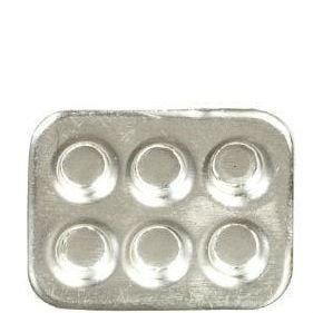 dollhouse miniature muffin tin