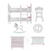 dollhouse miniature nursery furniture