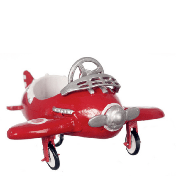 dollhouse miniature pedal airplane car