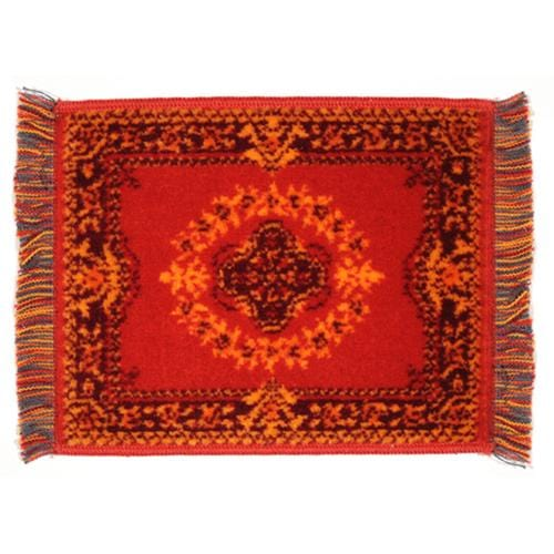 dollhouse miniature red oriental rug