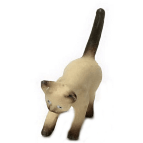dollhouse miniature siamese cat