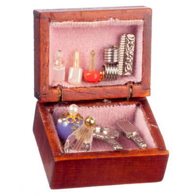 Dollhouse Miniature Dressing Table Box - Little Shop of Miniatures