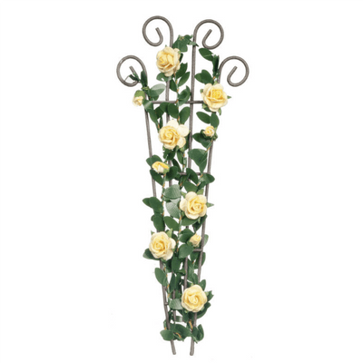 Floral Dollhouse Miniature Trellis - Little Shop of Miniatures