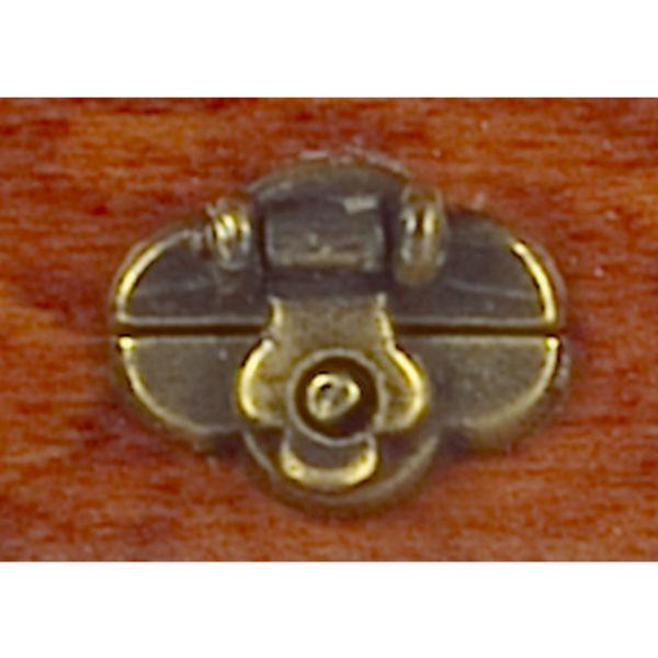 dollhouse miniature trunk lock