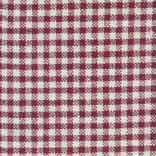 gingham fabric on dollhouse bed