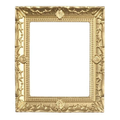 gold dollhouse miniature picture frame