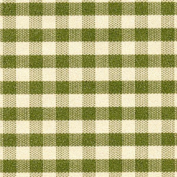 green check dollhouse wallpaper