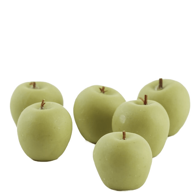 green dollhouse miniature apples