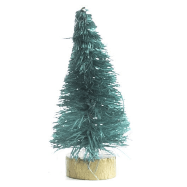 green dollhouse miniature tree