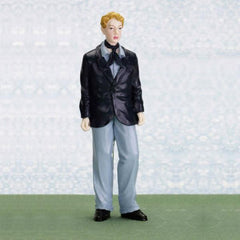 male miniature dollhouse doll