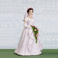 miniature bride doll
