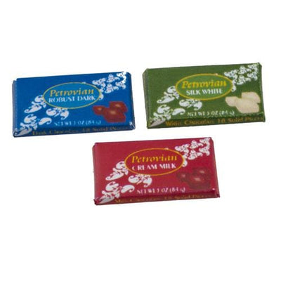 Dollhouse Miniature Chocolate Bars - Little Shop of Miniatures