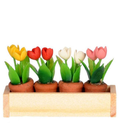 miniature flower window box