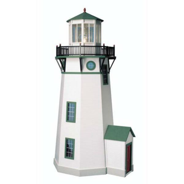 A miniature lighthouse.